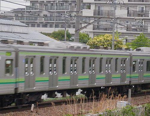 サハ204形100番代(横クラ)(横浜線中山~十日市場間・2013年5月11日)