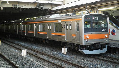 千ケヨ205系M24編成・クハ205-33(2013年5月15日・大宮駅)