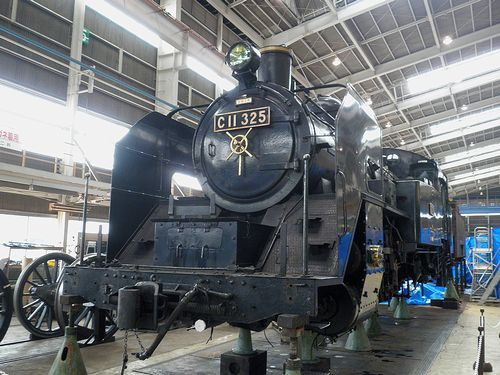 C11 325(真岡鐵道)(JR大宮総車セ、2013年5月25日)