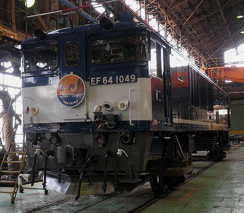 EF64 1049[愛](JR貨物大宮車両所、2013年5月25日)
