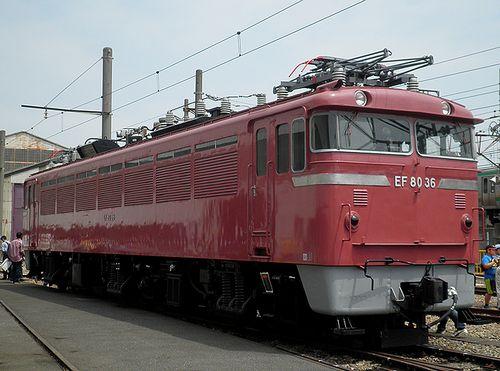 EF80 36(JR大宮総車セ、2013年5月25日)