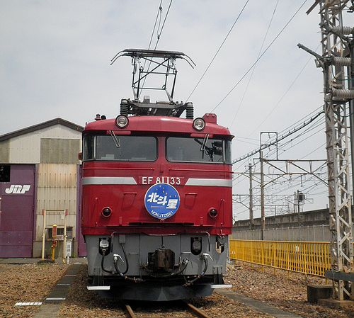 EF81 133(JR大宮総車セ、2013年5月25日)