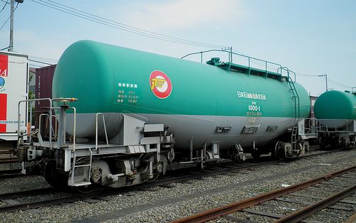 タキ1000-1(神奈川臨海鉄道横浜本牧駅・2013年5月26日)