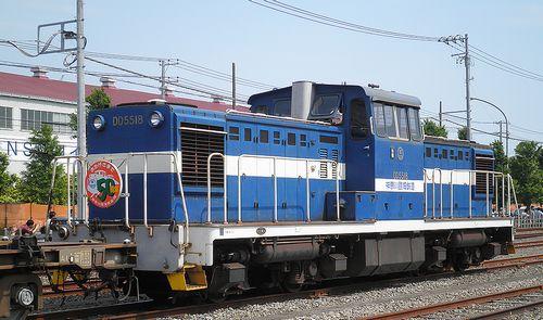 神奈川臨海鉄道DD5518(横浜本牧駅・2013年5月26日)1