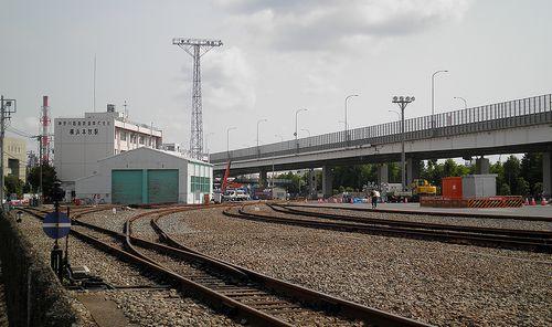 神奈川臨海鉄道・横浜本牧駅(2013年5月26日)2