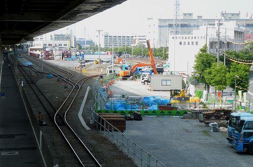 神奈川臨海鉄道・横浜本牧駅(2013年5月26日)1
