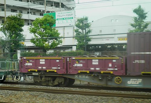 JR貨物ZM8Aコンテナ(2013年6月7日・北松戸~馬橋間)