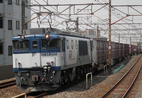 EF64 1045[愛](2013年6月5日・亀有駅)