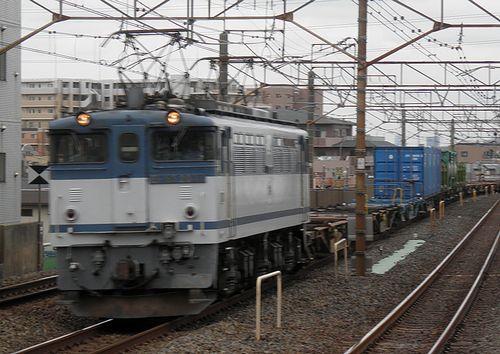 EF65 2037[新](2013年6月7日・亀有駅)