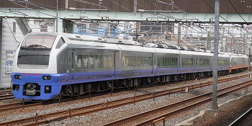 水カツE653系K308+K353編成(2013年6月7日・馬橋駅)