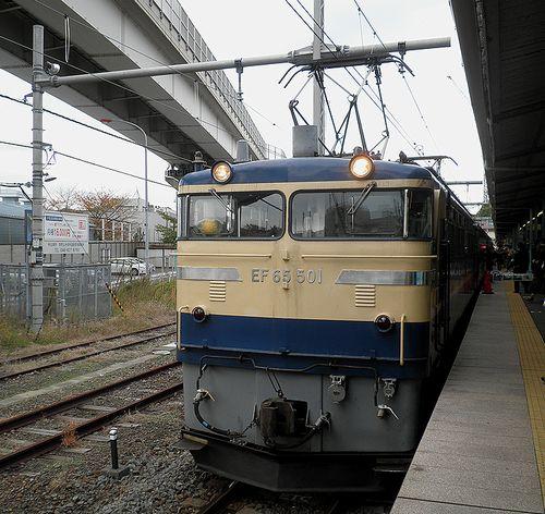 EF65 501[高](2011年11月26日・横須賀駅)