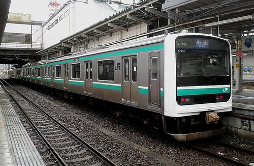 水カツE501系「K-751」編成(2011年7月19日・水戸駅)