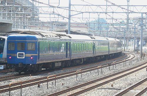 特急「北斗星」(東十条駅、2013年6月23日)3