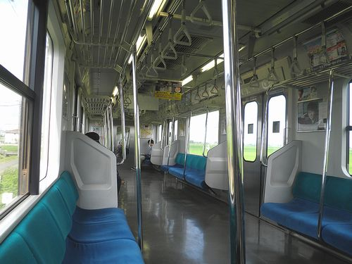 E501系車内(2013年6月24日・水戸線)