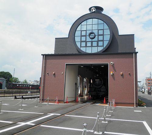 真岡・SLキューロク館(2013年6月24日)