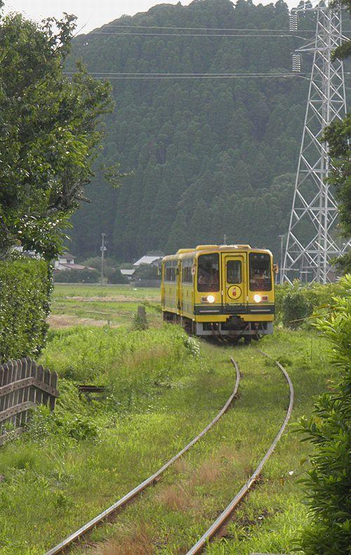 いすみ鉄道・いすみ206+201(2013年6月30日・西大原駅)