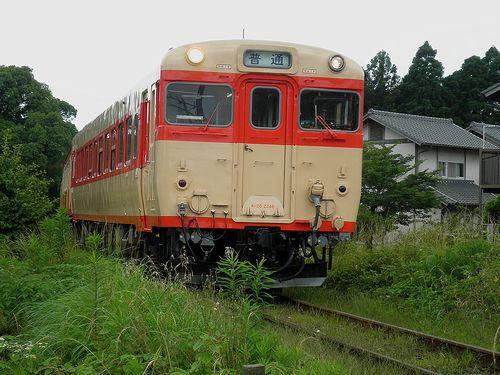 いすみ鉄道キハ28 2346(2013年6月30日・大多喜~小谷松間)