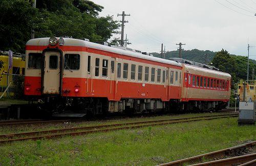いすみ鉄道キハ52 125+キハ28 2346(2013年6月30日・大多喜駅)