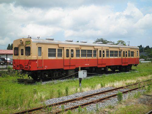 いすみ鉄道キハ30 62(2013年6月30日・国吉駅)