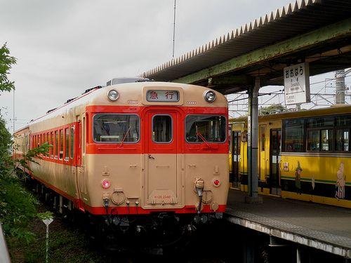 いすみ鉄道キハ28 2346+キハ52 125(2013年6月30日・大原駅)