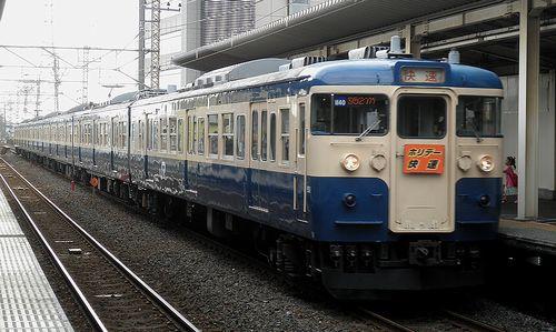 八トタ115系M40編成(2013年7月20日・南越谷駅)