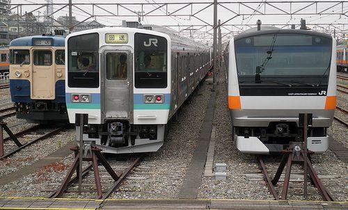 長ナノ211系N333編成(2013年7月22日・豊田車両センター)1