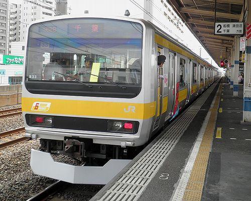 八ミツE231系「B33」編成(2013年7月20日・下総中山駅)