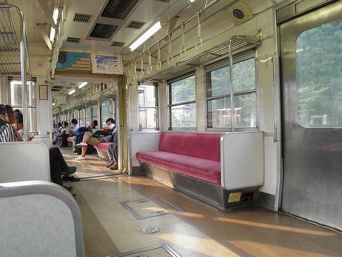 富士急モハ1001(5113)車内(2013年7月21日)3