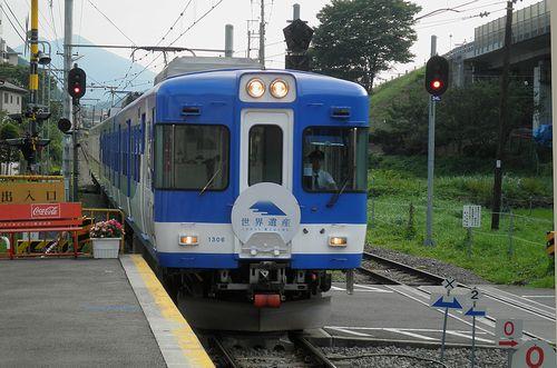 富士急モハ1306+1206+1101+1001(2013年7月21日・禾生駅)