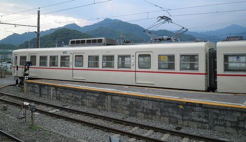 富士急モハ1001+1101(5113+5863)(2013年7月21日・大月駅)3