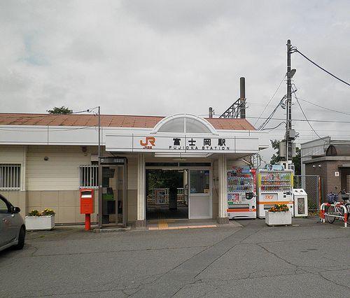 御殿場線富士岡駅(2013年8月4日)
