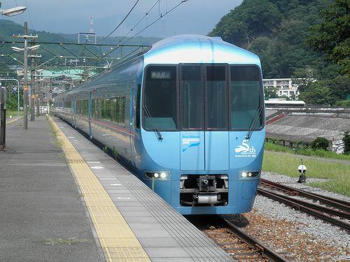 小田急60000系「あさぎり2号」(2013年8月4日・駿河小山駅)