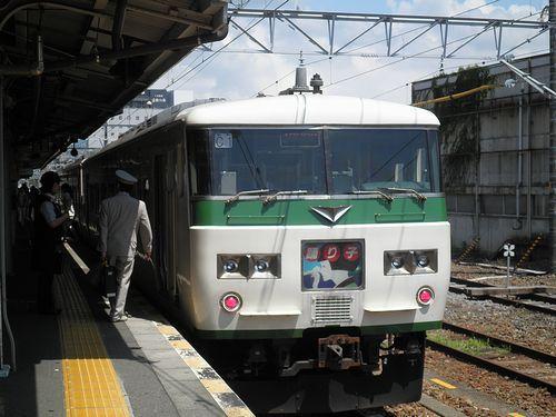 宮オオ185系「C1」編成(2013年8月4日・三島駅)3