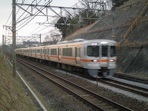 東海道本線函南~三島間(2012年1月28日)1