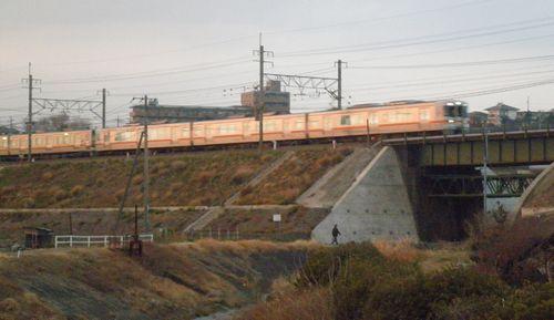 東海道本線函南~三島間(2012年1月28日)2