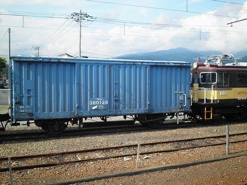 パワム380128(岳南電車・岳南富士岡駅・2013年8月4日)
