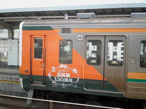 高タカ211系「C16」編成・115系風ラッピング(2013年8月14日・籠原駅)2