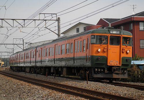 高タカ115系「1043」編成(2011年11月5日・井野~新前橋間)