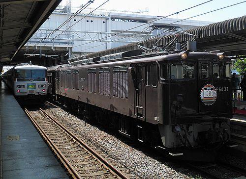 「レトロ高崎線130周年号」(2013年7月28日・上尾駅)