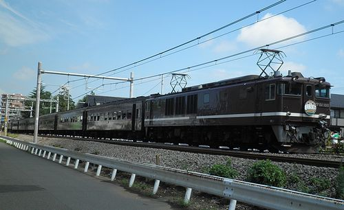「レトロ高崎線130周年号」(2013年7月28日・北上尾~桶川間)