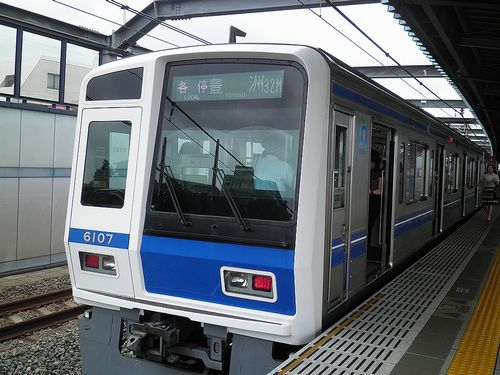 西武6000系「豊洲行き」(2013年7月4日・富士見台駅)1