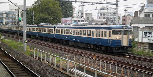 八トタ115系「M40」編成(2013年9月8日・大久保駅)1