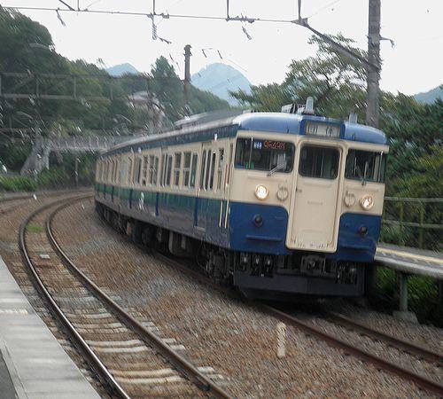 八トタ115系「M40」編成(2013年9月8日・四方津駅)1