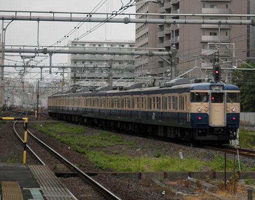 八トタ115系「M40」編成(2013年9月8日・錦糸町駅)2