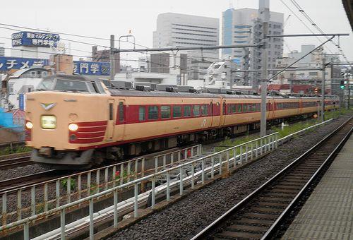 長ナノ183系「N101」編成(2013年9月8日・大久保駅)1