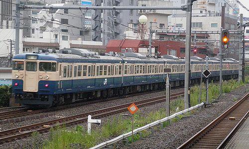 八トタ115系「M40」編成(2013年9月8日・大久保駅)2