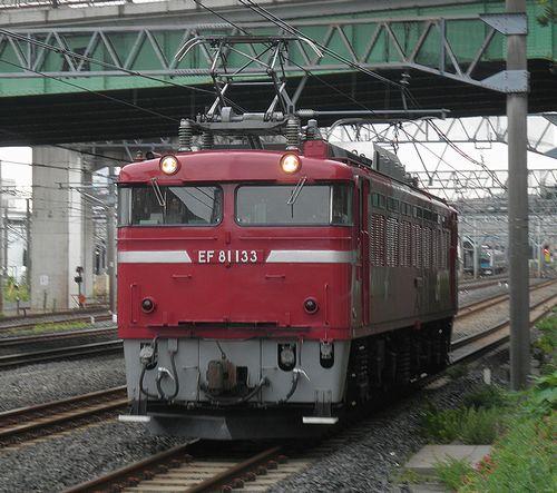 EF81 133[田](東十条~赤羽間・2013年9月7日)