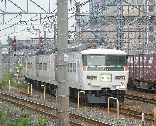 宮オオ185系「OM03」編成(大宮操駅・2013年6月24日)