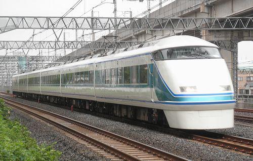 東武100系「108」編成(東十条~赤羽間・2013年9月7日)