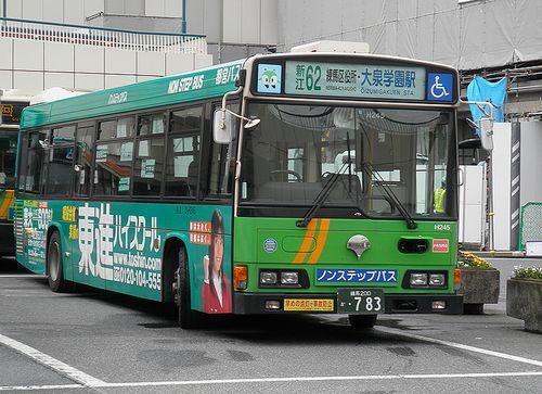 都営バス「新江62系統」(2013年5月21日・練馬駅)